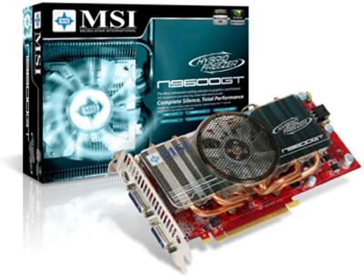 MSI'dan GeForce 9600GT Hybrid Freezer geliyor