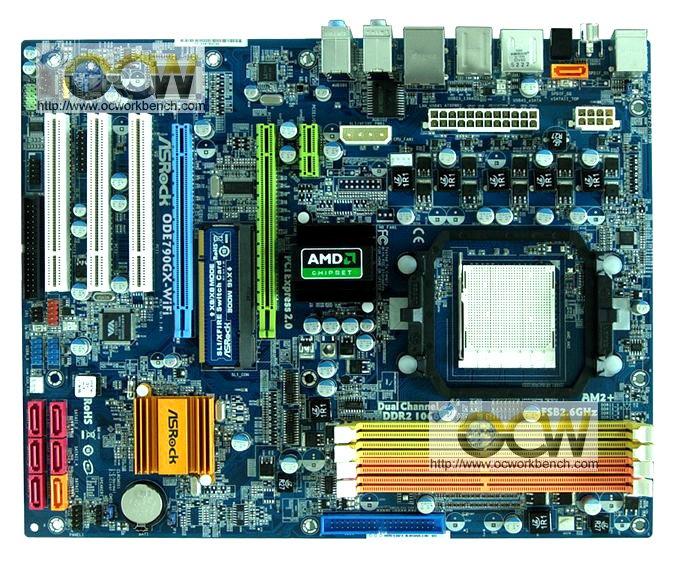 Asrock'ın 790GX yonga setli yeni anakartı; ODE790GX-WiFi