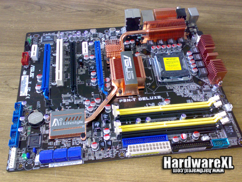 Asus'un nForce 780i SLI yonga setli anakartı: P5N-T Deluxe