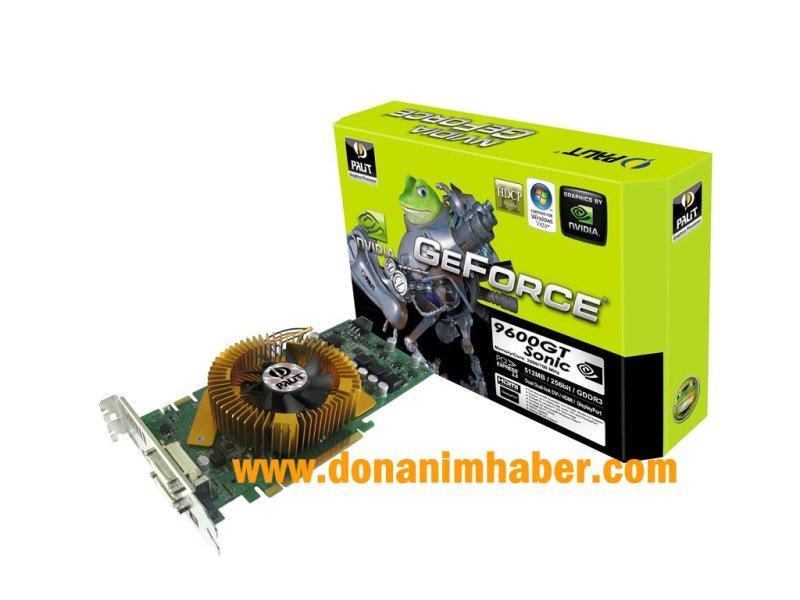 Palit GeForce 9600GT Sonic ortaya çıktı