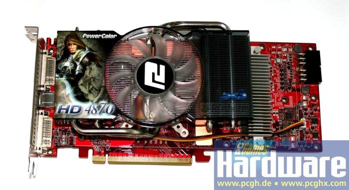 PowerColor tam gaz; Özel soğutuculu Radeon HD 4870 1GB GDDR5