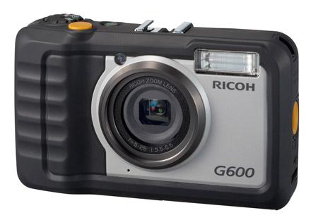 Ricoh G600; neme, toza ve darbelere dayanıklı kamera