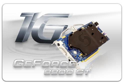 Sparkle'dan 1GB bellekli ve pasif soğutmalı 8800GT