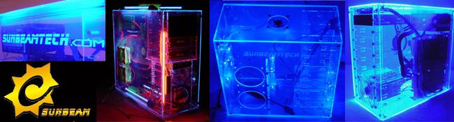 Sunbeam'in UV duyarlı Akrilik kasaları kullanıma sunuluyor