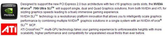 Nvidia nForce 790i SLI ile Crossfire mümkün olabilir