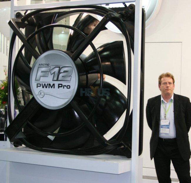 Computex 2008: Arctic Cooling'den 2000mm'lik devasa fan