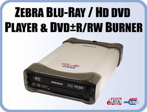 Addonics'den HD DVD/Blu Ray destekli harici sürücü