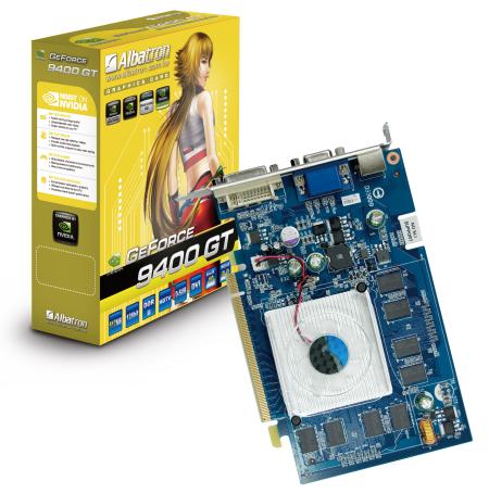 Albatron GeForce 9400GT modelini duyurdu