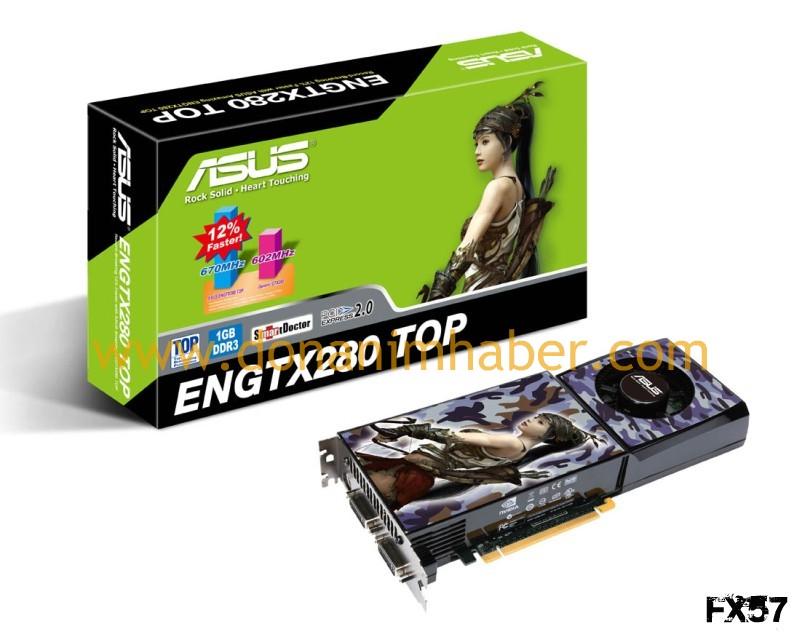 DH Özel: Asus GeForce GTX 280 TOP Edition