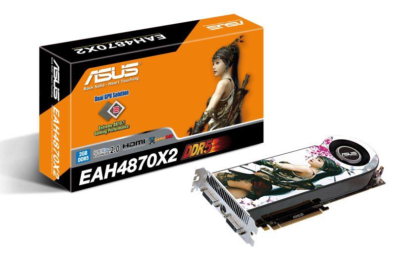 Asus Radeon HD 4870 X2 modelini duyurdu