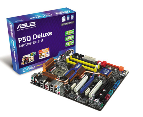 Asus'un P45 çipsetli P5Q serisinde entegre Linux
