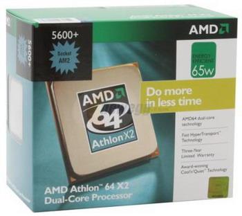 AMD'nin 2.9GHz'lik Athlon X2 5600+ işlemcisi raflardaki yerini alıyor