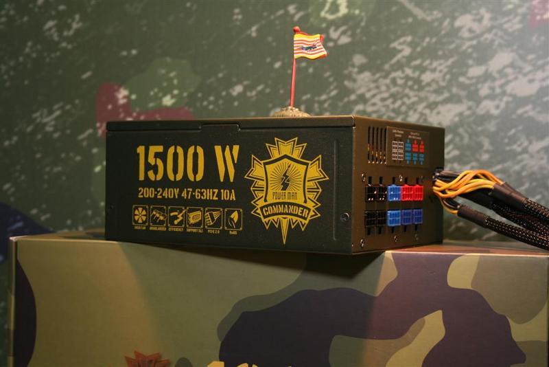 Computex 2008: In Win'den Commander serisi güç kaynakları