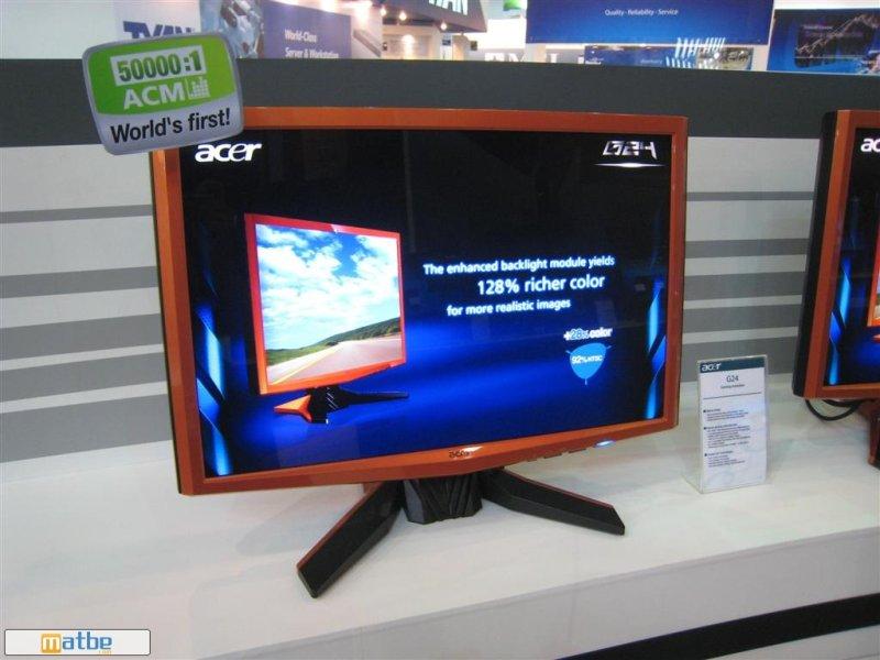 Computex 2008: Acer'dan oyunculara özel 24