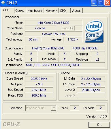 CPU-Z 1.40.5 kullanıma sunuldu
