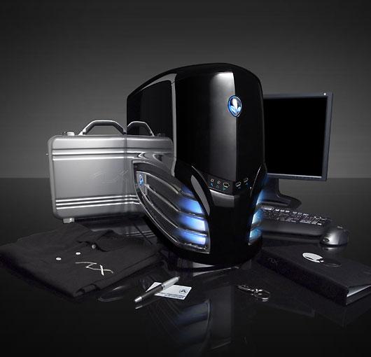 Alienware'den Crossfire destekli özel bir oyun makinesi