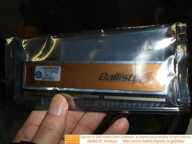 Crucial'in 2GHz'de çalışan DDR3 belleği kullanıma sunuldu