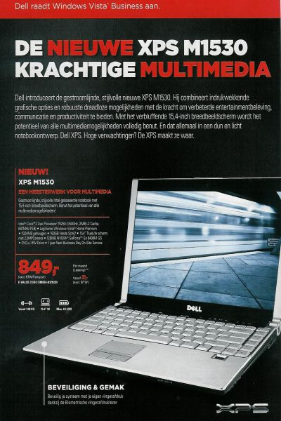 Dell XPS 1530 ortaya çıktı
