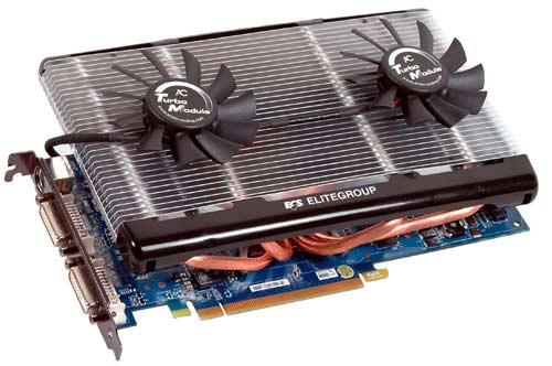 ECS'den GeForce 8800GT Dual Turbo