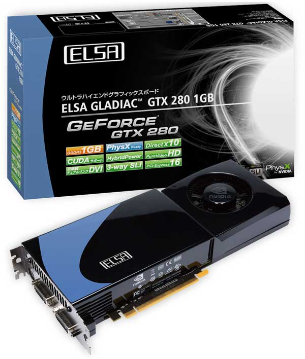 ELSA GeForce GTX 280 tabanlı yeni ekran kartını duyurdu