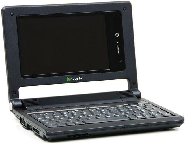 Asus'un Eee PC'sine rakip; Everex CLoudbook