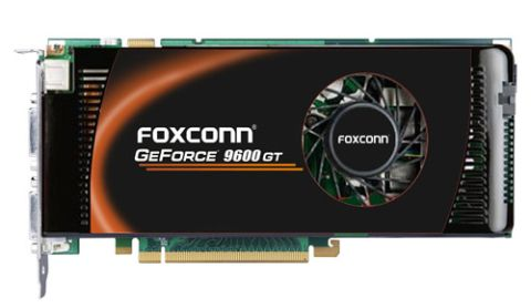 Foxconn GeForce 9600GT modelini duyurdu