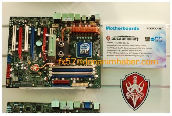 Foxconn'dan nForce 790i Ultra SLI yonga setli Dreadnought geliyor