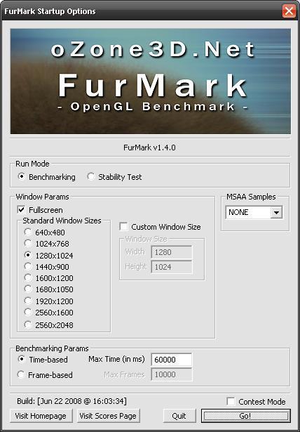 OpenGL testi FurMark yeni özelliklerle güncellendi