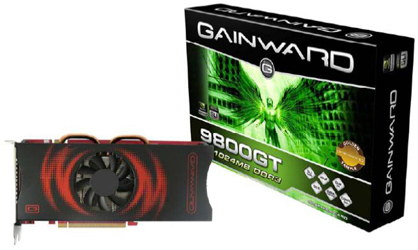Gainward 1GB bellekli GeForce 9800GT Bliss modelini duyurdu