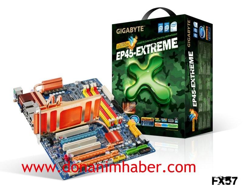 Gigabyte'ın yüksek performans için hazırladığı EP45-Extreme'in fiyatı belli oldu