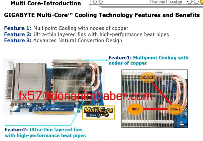 Gigabyte'ın pasif soğutmalı GeForce 9600GT modeli hazır