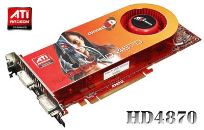 Connect3D Radeon HD 4870 modelini kullanıma sunuyor