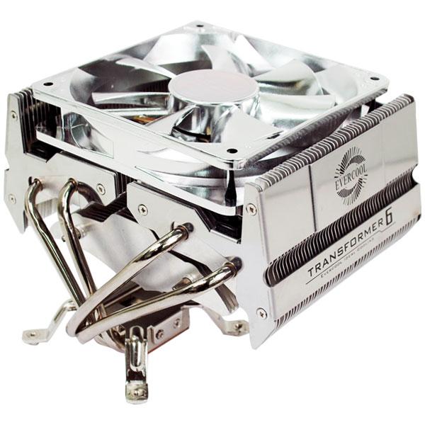 EverCool'dan yeni işlemci soğutucusu; Transformer 6