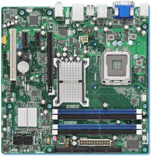 Intel'den G35 yonga setli yeni bir mATX anakart