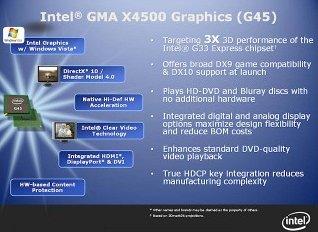 G43 ve G45 çipsetlerinin yaygınlaması 4 . çeyreği bulacak
