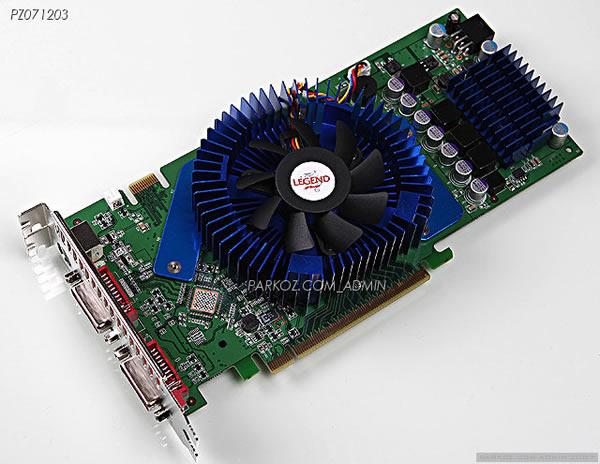 Kore'den bir GeForce 8800GT