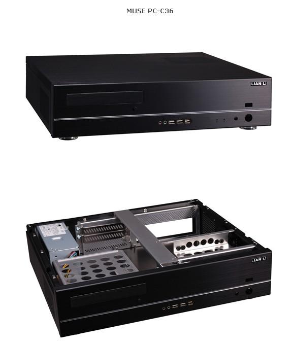 Lian-Li'den iki yeni HTPC kasası; MUSE C36 ve C37