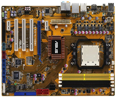 Asus'dan GeForce 8300 yonga setli yeni anakart