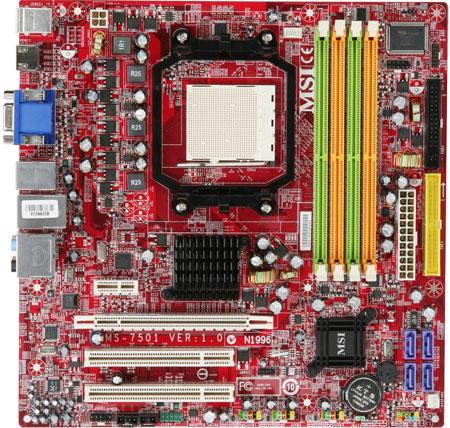 MSI'ın 4 mATX anakartı 125 watt'lık AMD işlemciler ile uyumlu