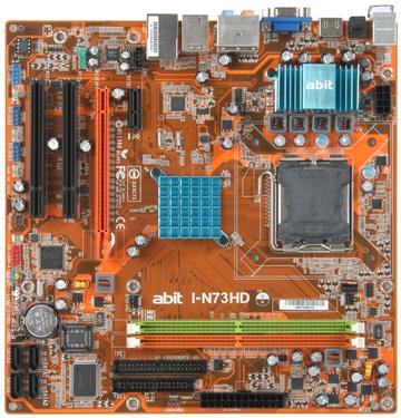 Abit'den yeni bir anakart daha: I-N73HD