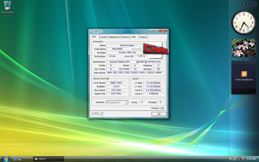 Nehalem'e doğru: 2.66GHz'lik Bloomfield işlemcisinin yeni test sonuçları ortaya çıktı