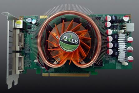 Axle GeForce 9600GSO tabanlı yeni ekran kartlarını duyurdu