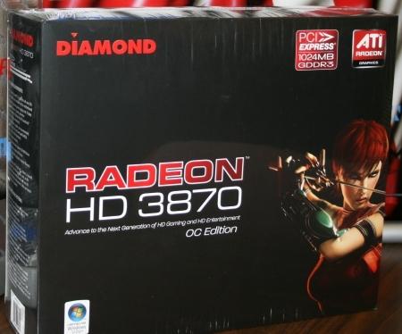 Diamond'dan 1GB bellekli ve hız aşırtmalı Radeon HD 3870
