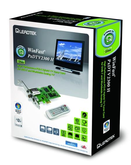 Leadtek'den PCIe destekli melez tv kartı
