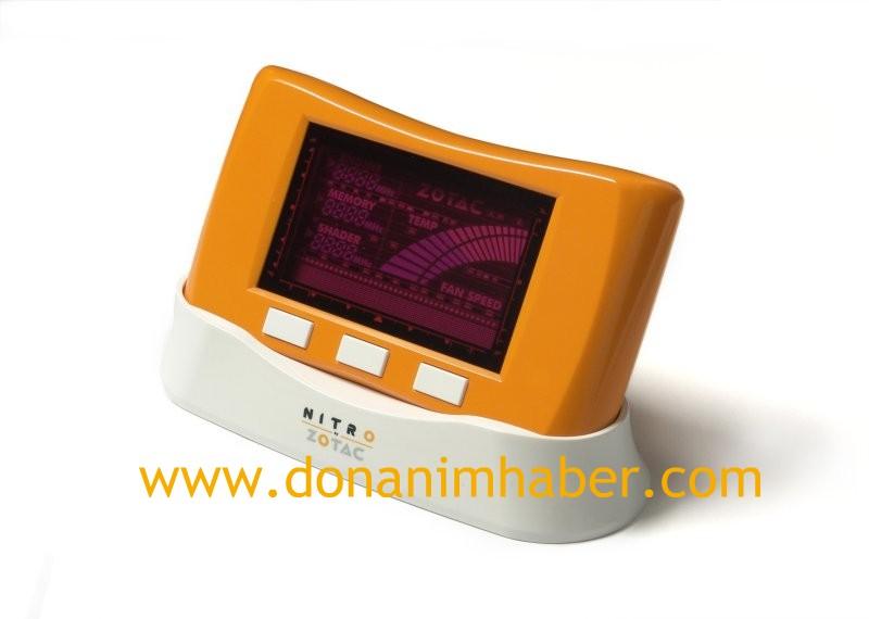 ZOTAC Nitro: Ekran kartları için donanımsal overclock kontrolcüsü