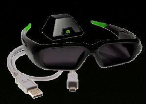 Computex 2008: Nvidia'dan 3D gözlüğü geliyor