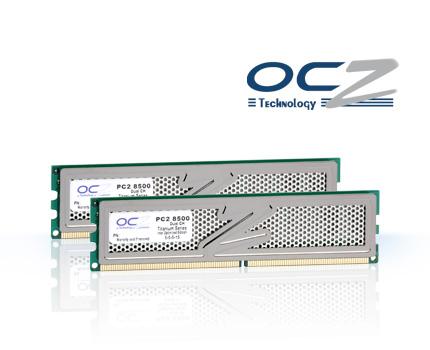OCZ'nin 1066MHz'de çalışan 4GB'lık DDR2 bellek kiti 77 Avro