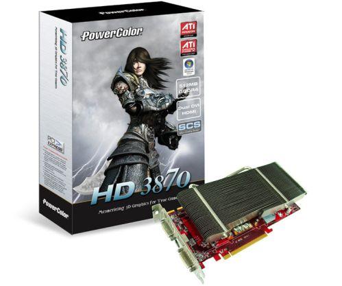 PowerColor'ın pasif soğutmalı HD 3870 SCS3 modeli duyuruldu