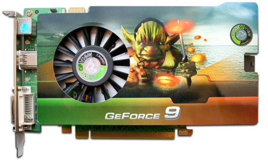 Point of View GeForce 9600GSO modelini duyurdu