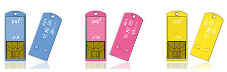 PQI Traveling Disk i201: Ultra-Kompak usb bellek
